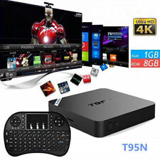 Pro 4K S905 Smart TV Box 64-bit Android 6.0 / 1G+8GB DDR4 HD 4K 3D w/ Keyboard