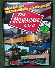 DVD MILWAUKEE ROAD SPECIAL 2-DISC 4 PROGRAM  COLLECTION