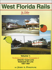 West Florida Rails In Color Vol 1 Emery Gulash Color Photography of ACL & SAL