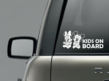 Kids on board car sticker window decal exterior vinyl decal