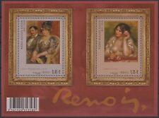 2009 FRANCE Bloc F4406** Bf  Tableau P-Auguste Renoir , 2009 Painting Sheet MNH