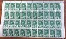 Australian Antarctic territory 2/3 1/2 sheet 40 stamps 8 rusted