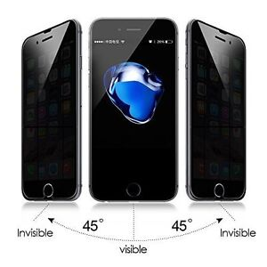 Anti Spy Matte Privacy Tempered Glass Screen Protector For Apple iPhone 8 New