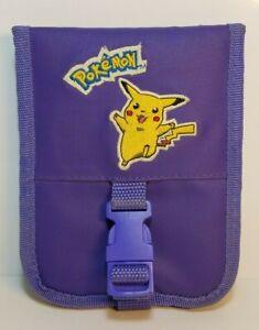 Nintendo Game Boy Pokemon Pikachu Purple Yellow Travel Carrying Case