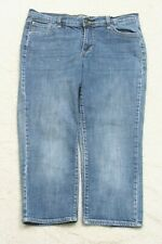 Old Navy The Flirt Blue Capri Jeans Pants Ten 10 32