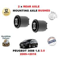 POUR PEUGEOT 3008 THP 1.6 VTI 2.0 HDI 2009->2016 2 X ARRIÈRE FIXATION ARBRE