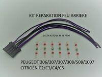 KIT DE REPARATION FEU ARRIERE PLATINE PORTE AMPOULES PEUGEOT 206/207/307/308