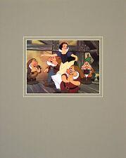 Walt Disney Snow White and the Seven Dwarfs Snow White with Dwarfs Poster Bild