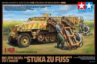 Tamiya 32566 1/48 Scale Model Kit WWII German Half-Track SPW Sd.Kfz.251/1 Ausf.D