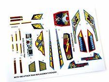 MOTU Masters of the Universe Attack Trak replacement Sticker