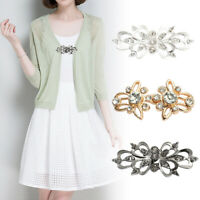 Fashion Rhinestone Brooch Pin Jewelry Shirt Lapel Collar Cardigan Clip 07AU