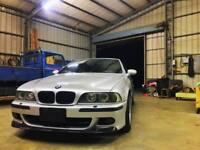 CSL Valance BMW E39 M5 M Front Bumper spoiler lip Eleron Apron Diffuser Tongue