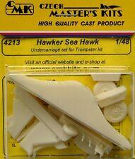 CMK 1/48 Hawker Sea Hawk Tren De Aterrizaje Juego Para Trumpeter # 4213