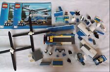 Lego Heavy Duty Helicopter 4439 RETIRED Complete ? Minifigures Instructions