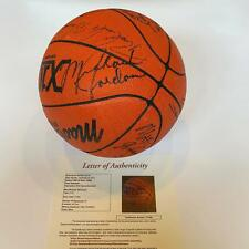 Michael Jordan Rookie 1986 All Star Game Team Signed Basketball 22 Sigs JSA COA