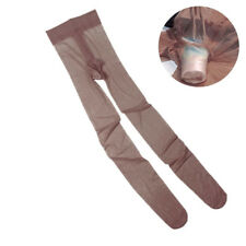 Men's Sexy Pantyhose Lingerie Pouch Sheer See Through Stocking Tights Hosiery