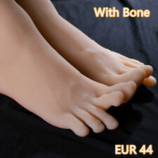 Silicone Men Or EUR44 Feet Mannequin One Right Left Lifelike Model Legs Display