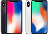 Apple iPhone X  64GB/256GB Space Gray/SILVER (GSM UNLOCKED) A1901 grade A++