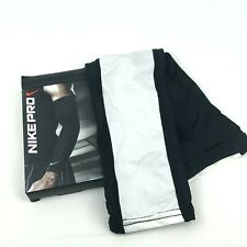 Nike Pro Arm Sleeve Dri-Fit Black White Men's Sz FITS MOST