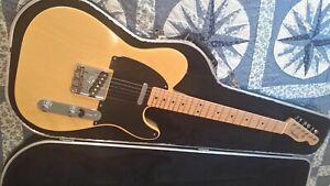 "Fender Custom Shop, 2001 re-issue, Blonde NOS 51 ""Nocaster"", 50th anniversary"