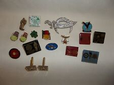 SMALL LOT OF ARARAT SHRINE PINS, CAR SHOWS, VIDALIA ONIONS, CUFFLINKS