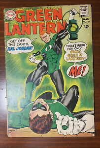 Green Lantern 59 1968 First Appearance Of Guy Gardner - Complete