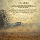 Art Print, Framed or Plaque by Bonnie Mohr - Farming - COW292