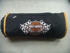 Harley Davidson Picnic/Stadium/Beach Travel Blanket Fleece & Nylon. W/Eyelets
