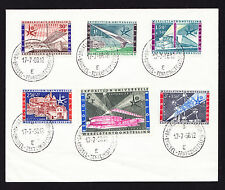 Belgium cover displaying CTO stamps 1958 Brussels International Exhibition