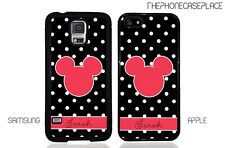 Disney Mickey Head Polka Dot Apple iPhone and Samsung Galaxy Phone Case Cover