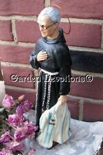 "12"" ST. MAXIMILIAN KOLBE PLASTER STATUE Patron of Difficult Times ~ NEW! *IMPORT"