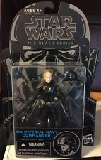 Star Wars The Black Series! New #14 Imperial Navy Commander Action Figure!