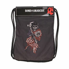 Sons Of Anarchy Reaper Flag Backsack