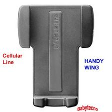 Cellular Line Supporto auto universale CELLULARE PORTA SMARTPHONE HANDY WING NEW