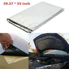 Car Heat Shield Mat Auto Turbo Exhaust Muffler Hood Insulation Barrier Pad