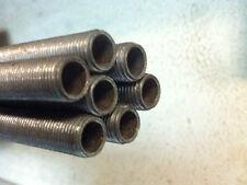 Barra Tubo filettato per lampadario Tiges mm 10x1 acciaio grezzo portalampade