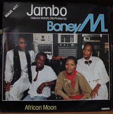 BONEY M JAMBO MAXI 45T FRENCH LP
