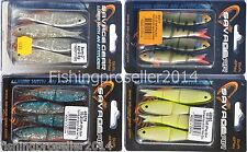 Savage Gear 4Play Soft Loose Body Lures 8cm with JIG CRAZY PRICES! Zander, Pike