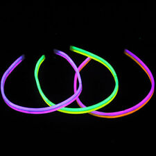 """50 22"""" Glow Sticks Necklaces TWISTERS Double Thick"""