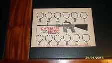 Advertising Italian Pubblicità Werbung: CAYMAN MATIC **1969**