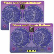 Painless Learning Educational Placemats  Stars % Constellations  2 Pack