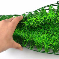 Green Plastic Water Grass Plant Lawn Fish Tank Landscape Aquarium Decor Home .