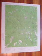 Big Basin California 1960 Original Vintage USGS Topo Map