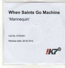 (CZ918) When Saints Go Machine, Mannequin - 2012 DJ CD