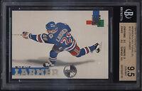 1994-95 Stadium Club Members Only Steve Larmer Gem Mint BGS 9.5 New York Rangers