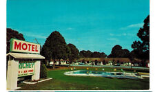 1968 postcard- Richey Motel, New Port Richey, Florida
