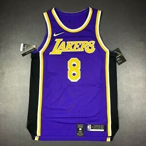 100% Authentic Kobe Bryant Nike Statement Lakers Jersey Size 48 L
