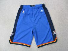 Adidas Oklahoma City Thunder Shorts Youth Extra Large Blue Basketball Kids Boys