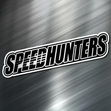 (1) Speed Hunter car Sticker Auto Race Drift JDM Decal Boost Tuner Euro Funny