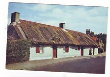 Old Postcard (1962) - Burns' Cottage, Alloway, Ayrshire - Posted 0499